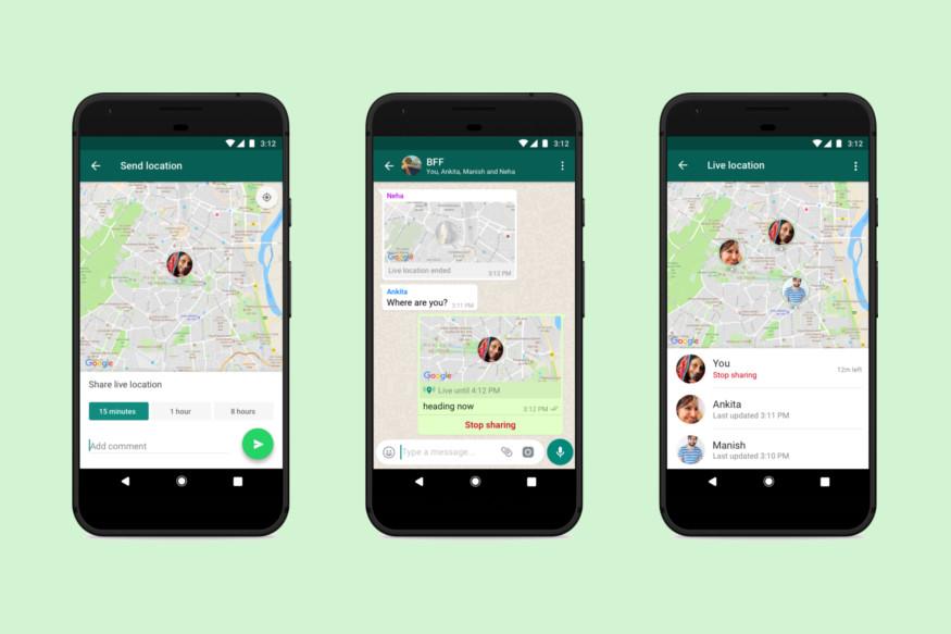 Cara Berbagi Live Location di WhatsApp