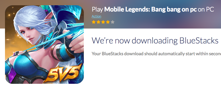 Cara Install Mobile Legend Bang Bang di Mac atau PC via Bluestack