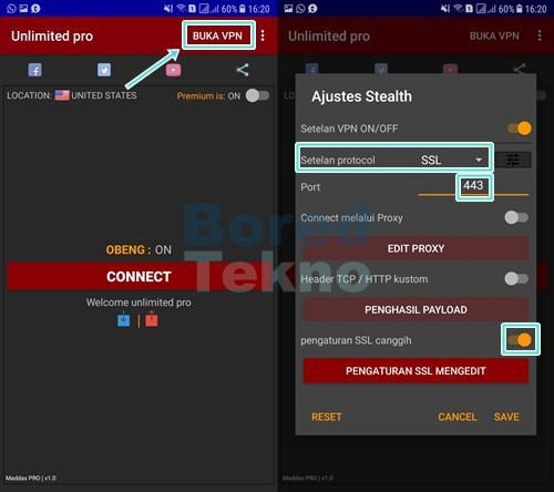 Cara Setting Unlimited Pro Videomax Telkomsel Dengan Bug Terbaru 2020