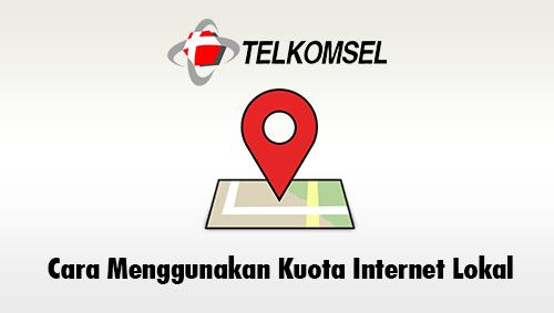 Cara Menggunakan Kuota Internet Lokal Telkomsel 2021 Boredtekno Com
