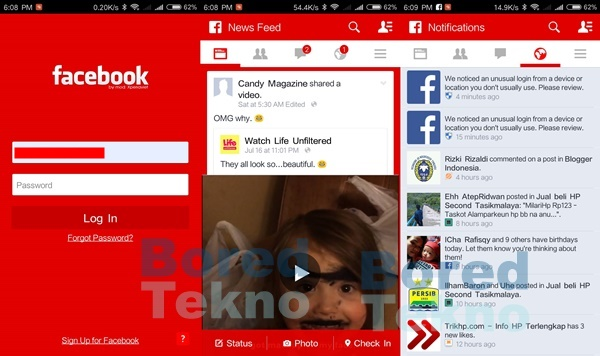 Download GB Facebook MOD APK versi Terbaru 2018 - Boredtekno com