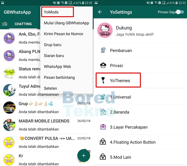 Download Tema Whatsapp Hello Kitty Apk Versi Terbaru 2019