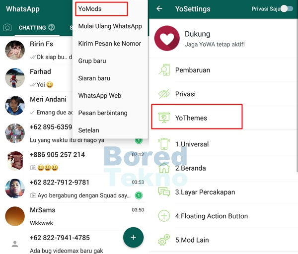 Download Whatsapp Tema Doraemon Apk Mod Versi Terbaru 2019