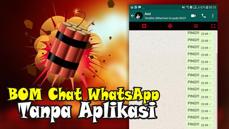 bom chat whatsapp tanpa aplikasi