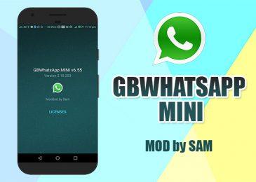 Download GBWhatsapp Mini Ukuran APK Kecil versi 6.55 Terbaru