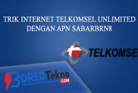 Telkomsel Unlimited dengan APN sabarbrn8