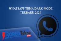 Whatsapp tema dark mode