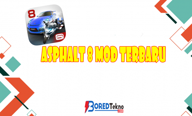 Asphalt 8 Mod Terbaru