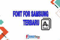 Font For Samsung Terbaru