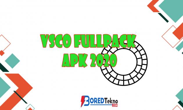 VSCO Fullpack APK 2020