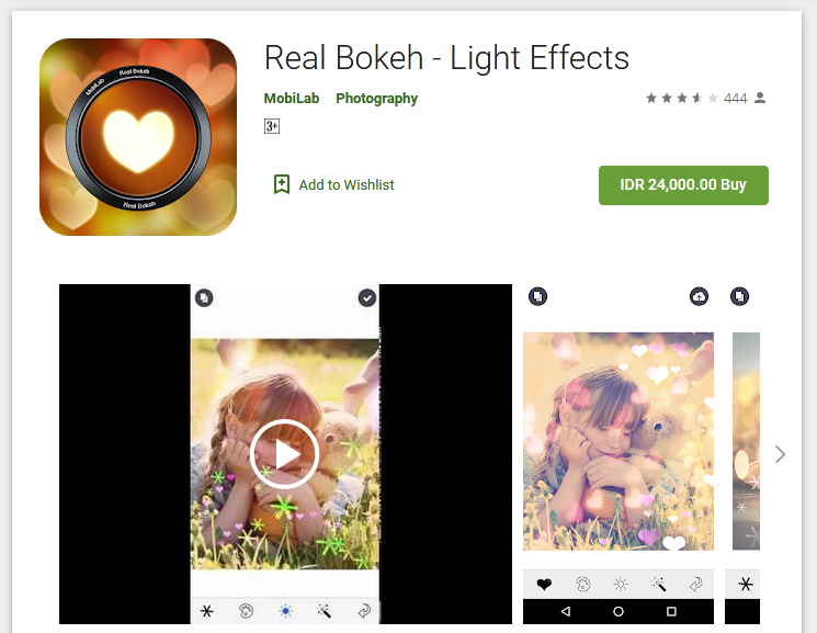 Real Bokeh–Light Effect