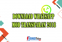 Download Whatsapp MOD Transparan 2018