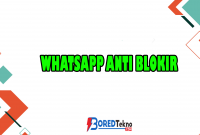 Whatsapp Anti Blokir