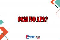 0821 No Apa?