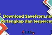 Download SaveFrom.net terlengkap dan terpercaya