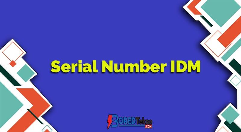 Serial Number IDM