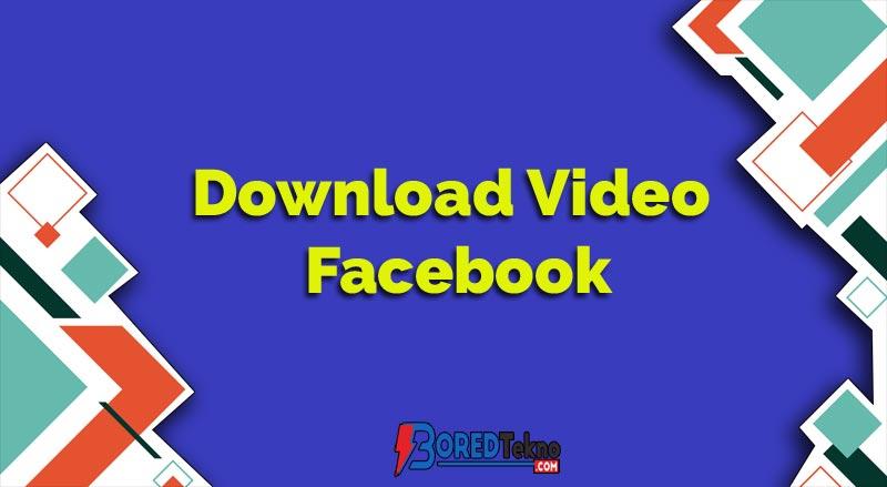 Download Video Facebook