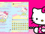 tema whatsapp hello kitty